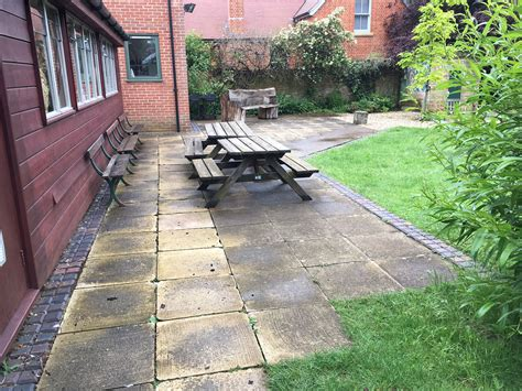New Patio by New School Patio Oxford Summertown The New Driveway Company
