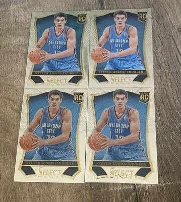 2013-14 Panini Select STEVEN ADAMS Rookie Card RC Oklahoma ...
