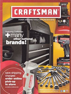 partial victory  sears catalog   craftsman catalog