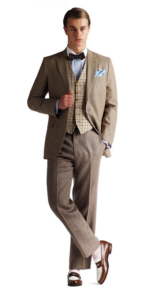great gatsby mens fashion brooks brothers clothing