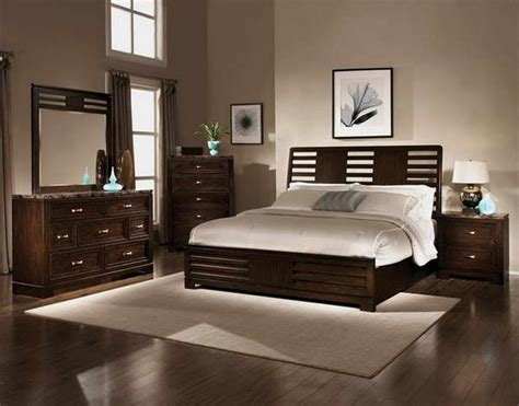 chocolate brown bedroom furniture interior paint colors