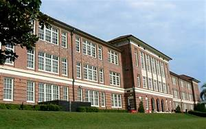 Leon High School building in Tallahassee, Florida image ...