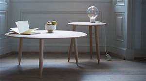 Runder Wandspiegel Holz : runder couchtisch hoof table sw2 von tradition ~ Frokenaadalensverden.com Haus und Dekorationen