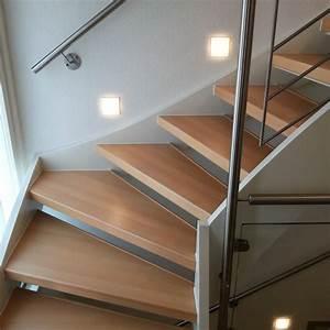 Offene Treppe Schließen Vorher Nachher : treppenrenovierung treppensanierung h bscher offene treppen renovieren ~ Buech-reservation.com Haus und Dekorationen