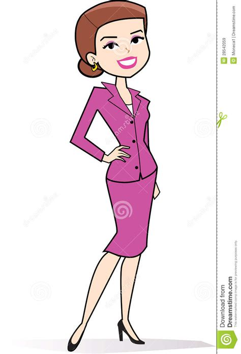 clipart immagini clipart della donna fumetto nel retro disegno di stile