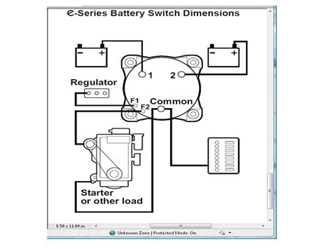 Wiring Battery Switch The Hull Truth Boating