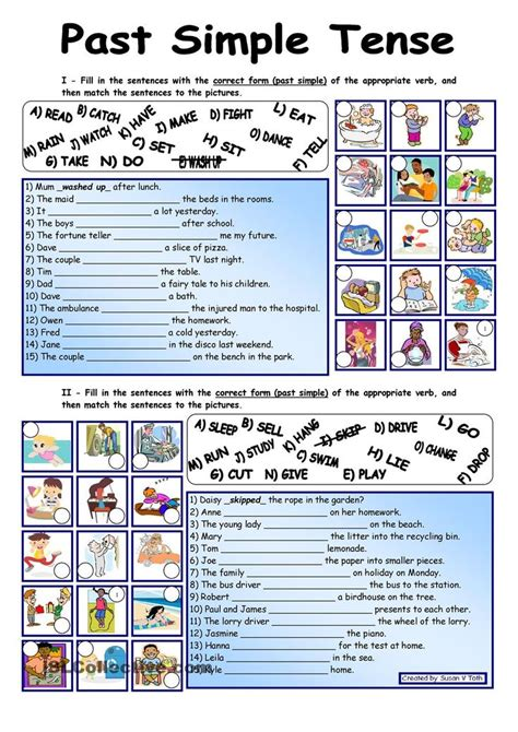 Past Simple Tense*** Fully Editable *** With Key  Teaching English  Pinterest  Keys And Simple