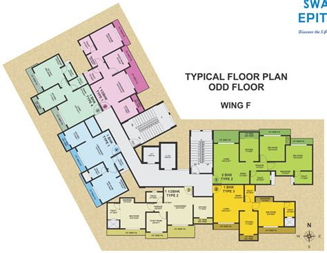 409 Sq Ft 1 Bhk 1t Apartment For Sale In Swastik Group