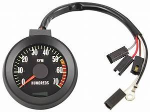 Gauge  Tachometer  1967 Chevelle  El Camino  5500 Rpm