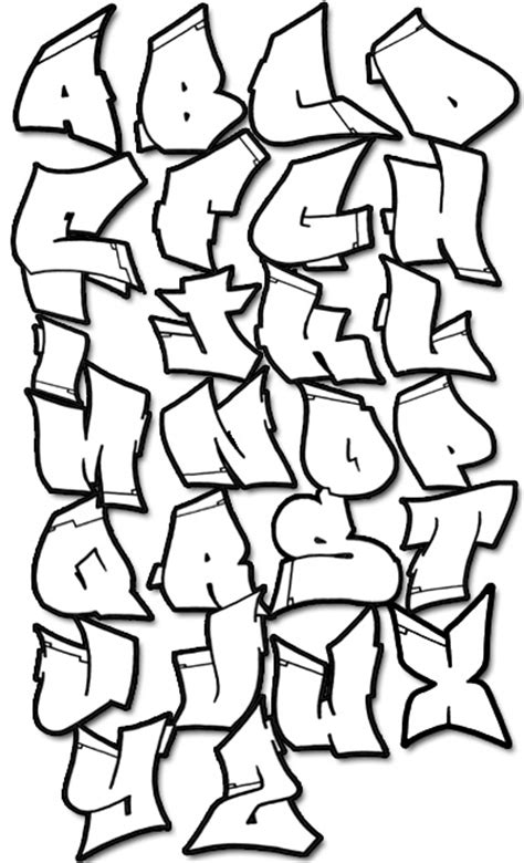 Graffiti Letters A Z In 3d G Alphabets Alphabet Wildstyle