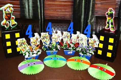 ninja turtle decorations ninja turtles party pinterest