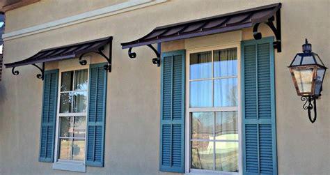 small metal awning  door  build