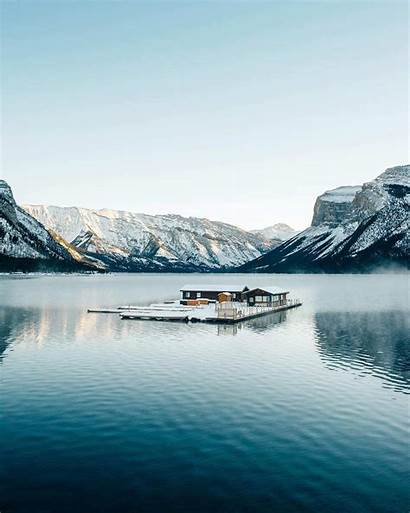 Travel Winter Lake Photographer Canada Stevin Minnewanka