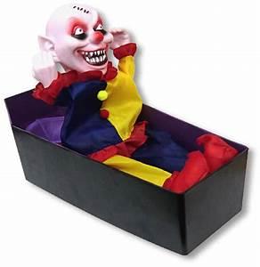 Deko Sarg Halloween : clown im sarg animatronic halloween deko horrro animatronic horror ~ Markanthonyermac.com Haus und Dekorationen