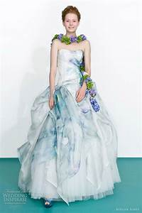 atelier aimee 2013 color wedding dresses wedding With floral wedding dresses with color
