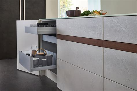 topos concrete fitted kitchens  leicht kuechen ag