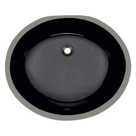 Black Kitchen Sink Home Depot by Polaris Sinks Undermount Porcelain Bathroom Sink In Black