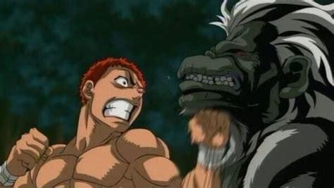 anime baki 2018 episode 7 hajime no ippo vs baki the grappler anime amino