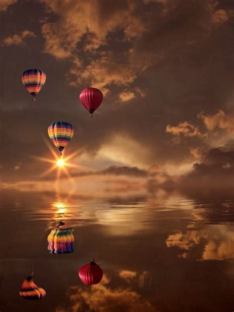 hot air balloons pretty   picture pinterest