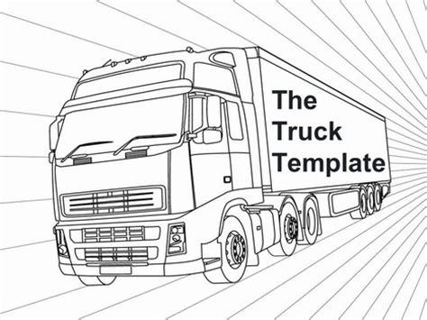 truck template truck template