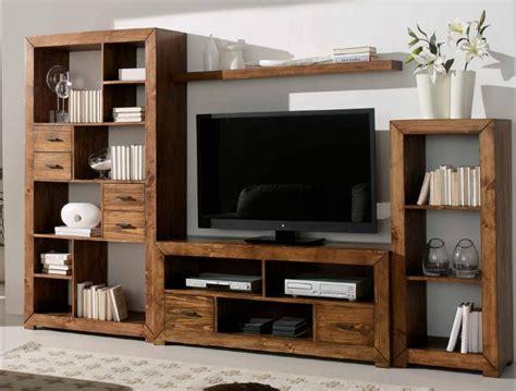 modular  salon en madera maciza mueble rustico mexicano