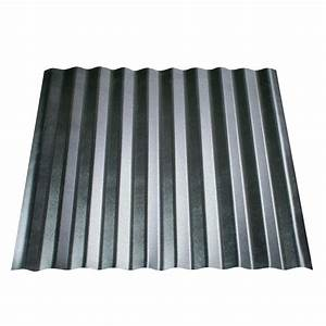 fabral shelterguard 14 in x 105 ft galvanized steel With 18 ft metal roofing