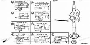 Honda Small Engine Parts Gcv160 Oem Parts Diagram For