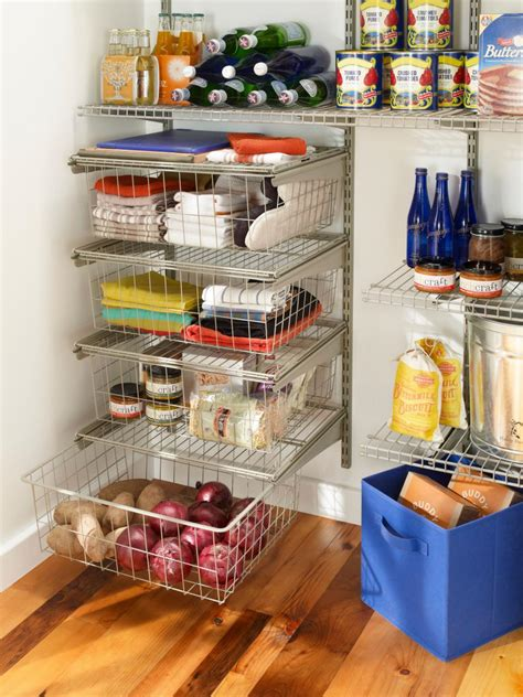 16 Small Pantry Organization Ideas  Hgtv. Small Kitchen Table And Two Chairs. Kitchen Ideas With White Appliances. Kitchen Small Cabinets. White Larvae In Kitchen. Kitchen Backsplash Ideas With White Cabinets. Farmhouse Style Kitchen Islands. Kitchen Island Trends. Kitchen Theme Decor Ideas