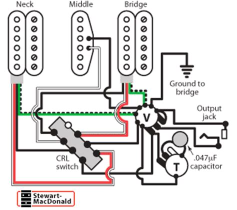 golden age humbucker wiring diagrams stewmac
