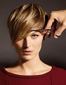 Coupe Longue Femme : coiffure femme cheveux court meche longue ~ Dallasstarsshop.com Idées de Décoration
