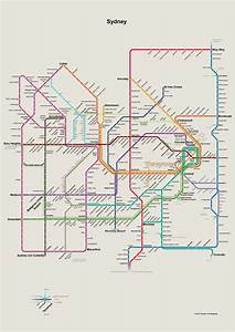 Fantasy Future Map: Sydney, Australia by Thomas ...