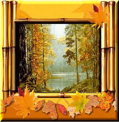 Gugur Animasi Musim Bunga Autumn Aneka Daun