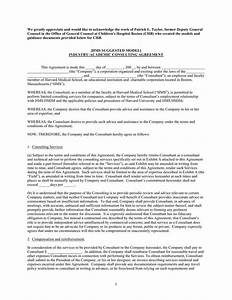 Consulting contract template download free premium for Consultation agreement template