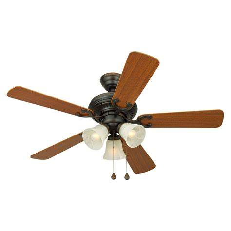 lowes ceiling fans with led lights shop harbor breeze bellevue 44 in aged bronze multi