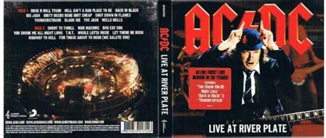 AC/DCdb ::: AC/DC - Live at River Plate - Australia - CD ...