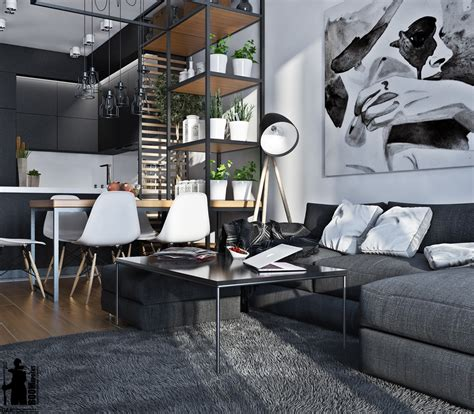 monochromatic living room colors idea combined  wooden