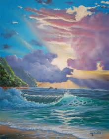 Hawaii Ocean Seascape Painting