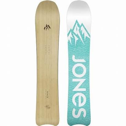 Snowboard Jones Snowboarding Womens Evo Hovercraft Enough