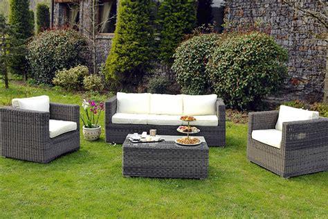 mobilier de jardin en resine tressee comment nettoyer des meubles de jardin en r 233 sine tress 233 e