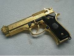really the gold that gives Real Gold Guns  Real Golden Guns