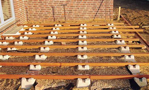 l steine abdichten fundamentsteine terrasse fundamente selbst de