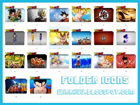 Anime Folder Icons 2017 20 Folder Icons Anime Z 2017 Windows 7 8 10