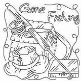 Fishing Coloring Fish Printable Wood Patterns Adult Drawings Burning Go Gone Dot Painting Fall Lets Books Cartoon Stencils Pole Vinyl sketch template