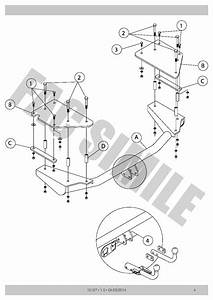 Detachable Towbar   7pin Wiring For Fiat Multipla Mpv 2004