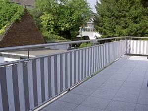 Sichtschutz Für Balkongeländer : balkonverkleidung ~ Markanthonyermac.com Haus und Dekorationen