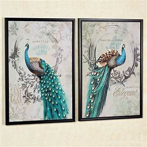 peacock art canvas With peacock wall art