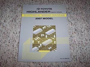 2007 Toyota Highlander Hybrid Electrical Wiring Diagram
