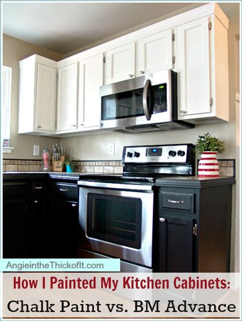 latex paint on cabinets how i painted my kitchen cabinets chalk paint latex and