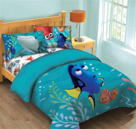 disney finding dory fish finder comforter set wfitted sheet