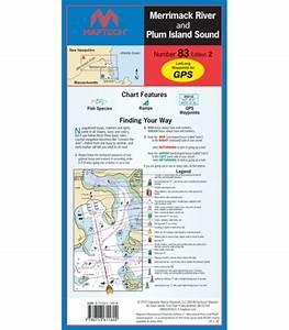 Maptech Chart Books Maptch Waterproof Chart Merrimack River And Plum Island